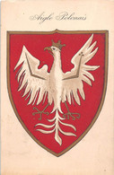 ¤¤  -  POLOGNE   -   L'Aigle Des Piast Employé Jadis Dans La Grande Pologne   -  Drapeau Polonais         -   ¤¤ - Pologne