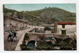- CPA OLLIOULES (83) - Route Des Gorges 1910 - Pont De La Bonnefont Sur La Reppe - Photo L. V. 2886 - - Ollioules