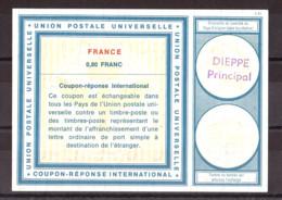 Coupon-réponse International - Type Vienne - France 80 Cts - Dieppe - Coupons-réponse