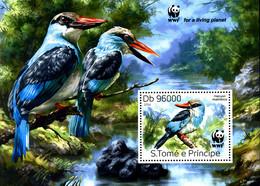 Ref. 330566 * NEW *  - SAO TOME AND PRINCIPE Islands . 2014. BIRDS. AVES - Sao Tome And Principe