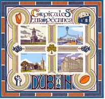 France 5384/5387 LES CAPITALES Dublin  Feuillet Neuf ** TB MNH Sin Charnela Faciale 5.6 - Nuovi