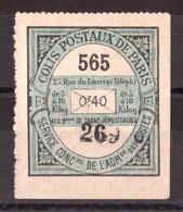 Colis Postaux Paris Pour Paris - Timbre N° 25 - Otros