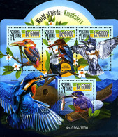 Ref. 352880 * NEW *  - SIERRA LEONE . 2015. BIRDS MARTIN FISHERMAN. AVES MARTIN PESCADOR - Sierra Leone (1961-...)
