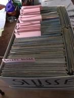SUISSE Schweiz Cartes Postales > Lot En Vrac > - LOT De 770 Cartes  -  Cpm Et Cpsm  Format 15 X 10.5 = Voir Descriptif - - 500 Cartoline Min.