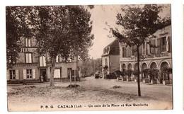 CAZALS PLACE CAFE COMMERCES ANIMEE - Cazals