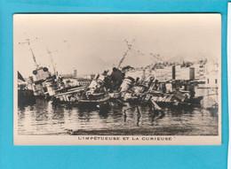 BATEAU GUERRE L'IMPETUEUSE ET LA CURIEUSE - Warships