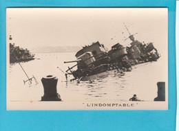 BATEAU GUERRE L'INDOMPTABLE - Warships