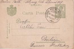 ROUMANIE 1920    ENTIER POSTAL/GANZSACHE/POSTAL STATIONARY CARTE DE BOTOSANI - Postal Stationery