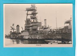BATEAU GUERRE FOCH - Warships