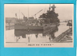 BATEAU GUERRE JEAN DE VIENNE - Warships