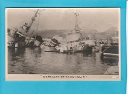 BATEAU GUERRE KERSAINT ET VAUQUELIN - Warships