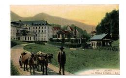 URIAGE LES HOTELS DE LA STATION ANIMEE CARTE COULEUR - Uriage