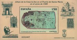 Ref. 85672 * NEW *  - SPAIN . 2000. CENTENARY OF THE MAP OF JUAN DE LA COSA. CENTENARIO DE LA CARTA DE JUAN DE LA COSA - 1991-00 Nuevos & Fijasellos