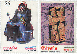 Ref. 83206 * NEW *  - SPAIN . 1998. CHRISTMAS. NAVIDAD - 1991-00 Nuevos & Fijasellos