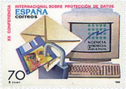 Ref. 83198 * NEW *  - SPAIN . 1998. 20th INTERNATIONAL CONFERENCE ON DATA PROTECTION. 20 CONFERENCIA INTERNACIONAL SOBRE - 1991-00 Nuevos & Fijasellos