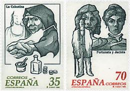 Ref. 83189 * NEW *  - SPAIN . 1998. SPANISH LITERATURE. LITERATURA ESPA�OLA - 1991-00 Nuevos & Fijasellos