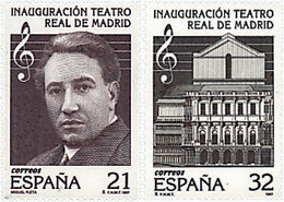 Ref. 83261 * NEW *  - SPAIN . 1997. RE-OPENING OF THE MADRID ROYAL THEATRE. REAPERTURA DEL TEATRO REAL DE MADRID - 1991-00 Nuevos & Fijasellos