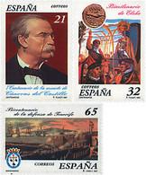 Ref. 83253 * NEW *  - SPAIN . 1997. CENTENARIES. CENTENARIOS - 1991-00 Nuevos & Fijasellos