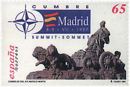 Ref. 85657 * NEW *  - SPAIN . 1997. NORTH ATLANTIC COUNCIL SUMMIT. CUMBRE DEL CONSEJO DEL ATLANTICO NORTE - 1991-00 Nuevos & Fijasellos