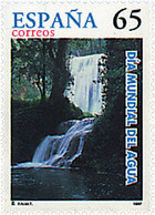 Ref. 83273 * NEW *  - SPAIN . 1997. WORLD DAY OF WATER. DIA MUNDIAL DEL AGUA - 1991-00 Nuevos & Fijasellos