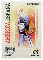 Ref. 83260 * NEW *  - SPAIN . 1997. AMERICA-UPAEP. THE POST MAN. AMERICA-UPAEP 1997 -  EL CARTERO - 1991-00 Nuevos & Fijasellos