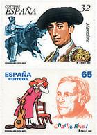 Ref. 83249 * NEW *  - SPAIN . 1997. FAMOUS PEOPLE. PERSONAJES POPULARES - 1991-00 Nuevos & Fijasellos