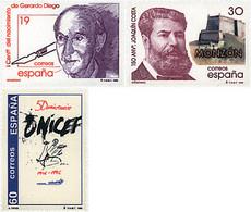 Ref. 85994 * NEW *  - SPAIN . 1996. EVENTS. EFEMERIDES - 1991-00 Nuevos & Fijasellos