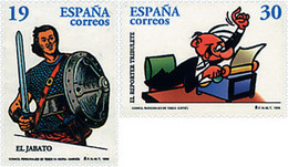 Ref. 85989 * NEW *  - SPAIN . 1996. COMICS. COMICS - 1991-00 Nuevos & Fijasellos