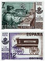 Ref. 85716 * NEW *  - SPAIN . 1981. POSTAL AND TELECOMMUNICATIONS MUSEUM. MUSEO POSTAL Y DE TELECOMUNICACIONES - 1981-90 Nuevos & Fijasellos