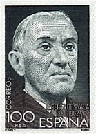 Ref. 85052 * NEW *  - SPAIN . 1980. CENTENARY OF THE BIRTH OF RAMON PEREZ DE AYALA. CENTENARIO DEL NACIMIENTO DE RAMON P - 1971-80 Nuevos & Fijasellos