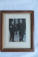 Photo Originale De Gaulle Et Coty 31/05/1958 - Personalità