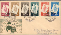 Ref. 425945 * NEW *  - SPAIN . 1956. HUNGARIAN INFANCY WELFARE FUND. PRO INFANCIA HUNGARA - 1951-60 Unused Stamps