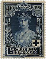 Ref. 210263 * HINGED *  - SPAIN . 1926. SPANISH RED CROSS. CRUZ ROJA ESPA�OLA - Nuevos