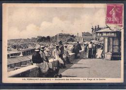 44. Pornichet. Boulevard Des Oceanides. La Plage Et Le Casino - Pornichet