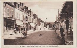 SAINT AMAND MONTROND (18) - Rue Nationale - Bon état - Saint-Amand-Montrond