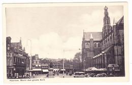 Haarlem - Markt Met Groote Kerk - Haarlem