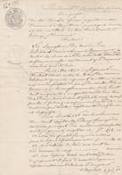 VP 1 FEUILLE - 1850 - JUGEMENT - MONTLUEL - MEXIMIEUX - Manoscritti