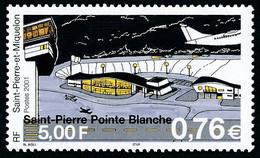 ST-PIERRE ET MIQUELON 2001 - Yv. 753 **   Faciale= 0,76 EUR - Aéroport Pointe Blanche  ..Réf.SPM12274 - Unused Stamps