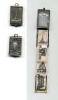 Médaille Souvenir De Paris / Petit Dépliant De Différentes Vues De Paris / Ancien - Otros
