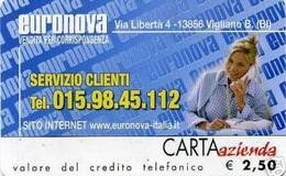 *CARTA AZIENDA 2° Tipo: EURONOVA - Cat. 733* - NUOVA (MINT)(FT) - Unclassified
