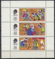 DDR  2096-2098, Kleinbogen, Postfrisch **, Märchen: Des Kaisers Neue Kleider 1975 - Blocks & Sheetlets