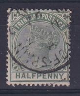 Trinidad & Tobago: 1883/94   QV     SG106    ½d    Used - Trinidad & Tobago (...-1961)