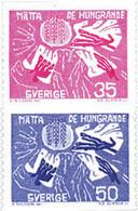 Ref. 105859 * NEW *  - SWEDEN . 1963. WORLD CAMPAIGN AGAINST HUNGER. CAMPA�A MUNDIAL CONTRA EL HAMBRE - Nuovi