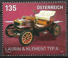 2020 Österreich Austria Mi. 3504 **MNH  Automobile   Laurin & Klement Typ A (1905) - 2011-... Nuevos & Fijasellos
