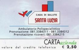 *CARTA AZIENDA 2° Tipo: CASA SALUTE SANTA LUCIA - Cat. 760* - NUOVA (MINT)(FT) - Unclassified