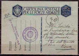 F3276  - R. CAPITANERIA DI PORTO  - TRIESTE - Posta Militare (PM)