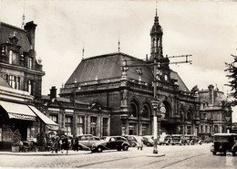 Thematiques 59 Nord Valenciennes La Gare Timbre Cachet Journée Du Timbre 19 Avril 1942 - Valenciennes