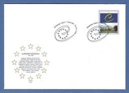Estland / Eesti 1999  Mi.Nr. 341 , EUROPA CEPT 50 Jahre Europa Rat - FDC - EESTI Tallinn 24.03.1999 - 1999