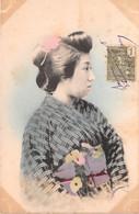 VIET NAM Indochine Jeune Femme 1  (scan Recto-verso) Ref 0960 - Vietnam