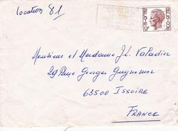 B01-213 Enveloppe Cob 1962 Flamme Prévention Suicide  €1 - Non Classés